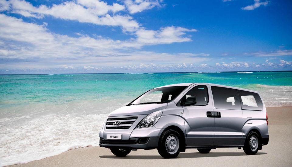 Full Size Van Rental Aruba